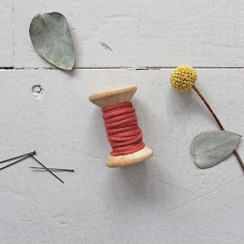 PIPING - Crêpe Terracotta