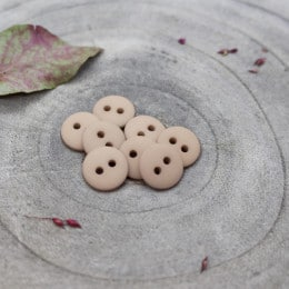 Classic Matte Buttons - Blush