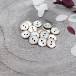 Glitz Buttons - Blush