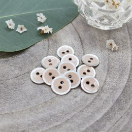 Halo Buttons - Blush