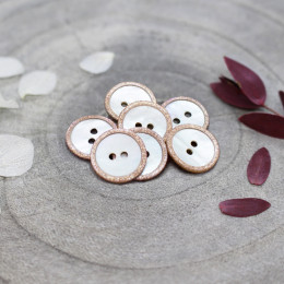 Glitz Buttons - Maple