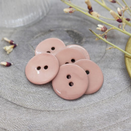 Glossy Buttons - Maple