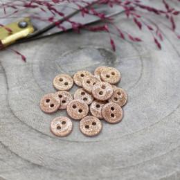 Glitter Buttons - Maple