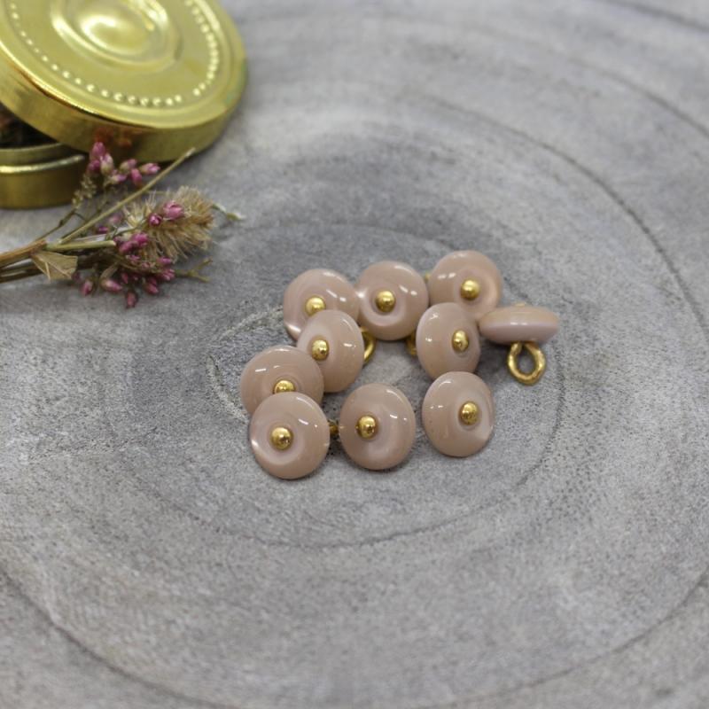 Jewel Buttons - Blush