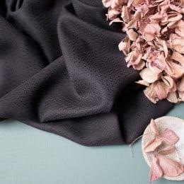 Dobby Black Fabric