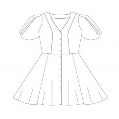 Robe Fleurette