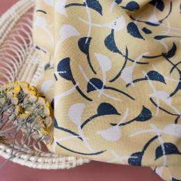 Windy Mustard Fabric