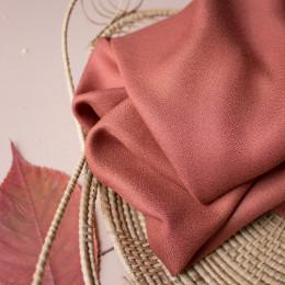 Crêpe Chestnut Fabric
