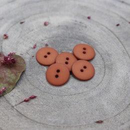 Classic Matte Buttons - Chestnut