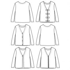 Masha Cardigan(3-12 years)