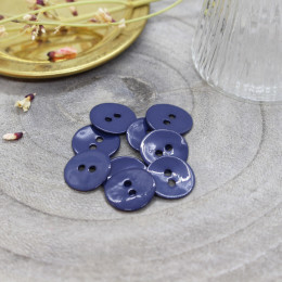 Boutons Glossy - Cobalt