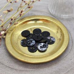 Boutons Glossy - Black