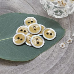 Halo Buttons - Mustard