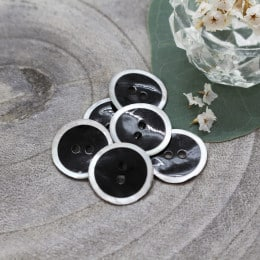 Halo Buttons - Black