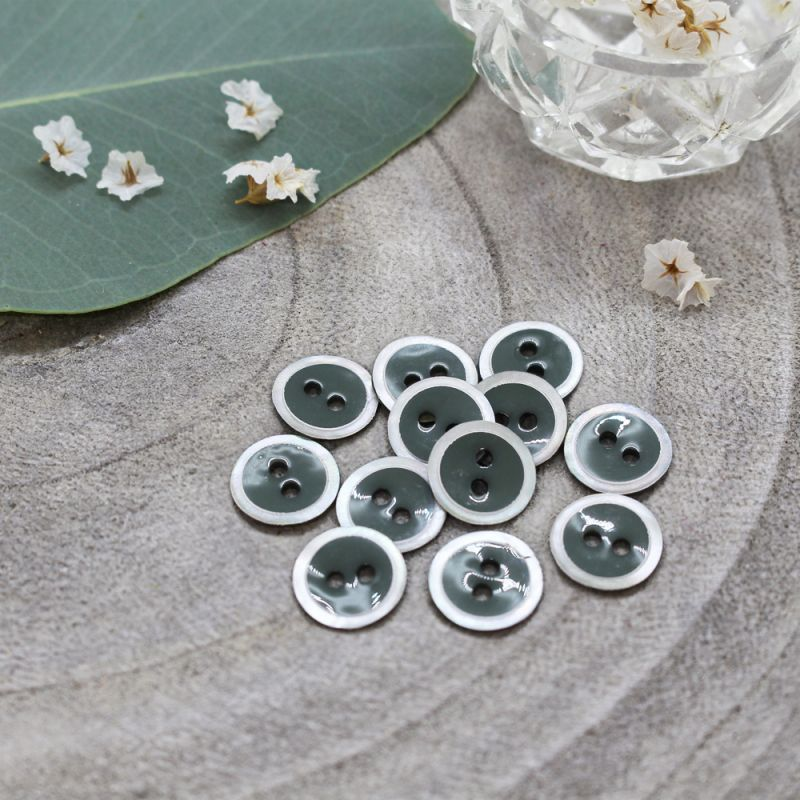 Halo Buttons - Cedar