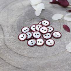 Glitz Buttons - Amarante