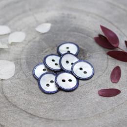 Glitz Buttons - Cobalt