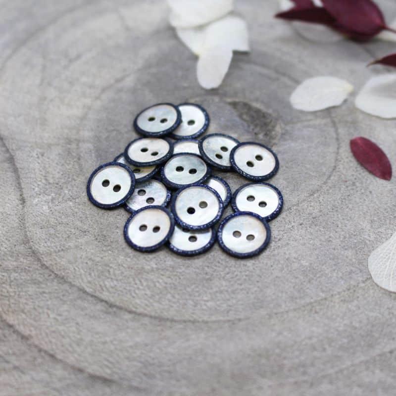 Glitz Buttons - Midnight