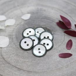 Glitz Buttons - Cedar