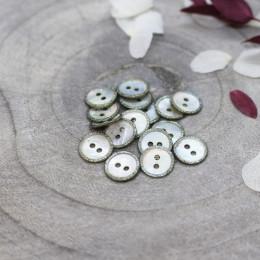 Glitz Buttons - Sage