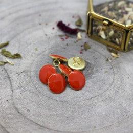 Gem Buttons - Tangerine