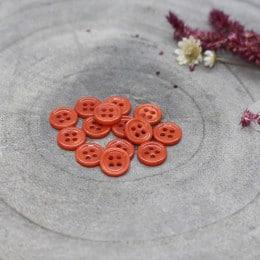 Bliss Buttons - Tangerine