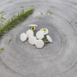 Quartz Buttons - Off-White