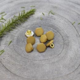 Quartz Buttons - Mustard