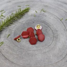 Quartz Buttons - Terracotta