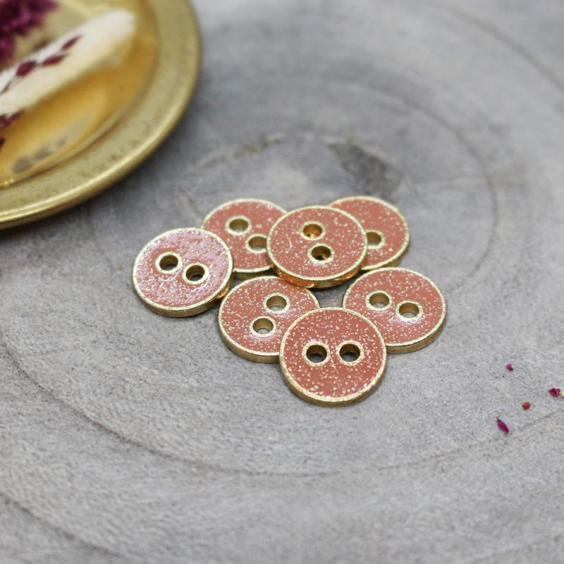 Joy Glitter Buttons - Melba