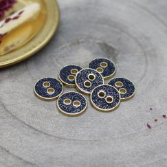 Joy Glitter Buttons - Midnight