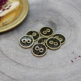 Joy Glitter Buttons - Black