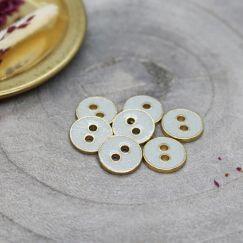 Joy Glitter Buttons - Sage