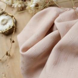Tissu Diamond Blush