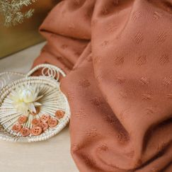 Diamond Chestnut Fabric