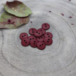 Classic Matte Buttons - Amarante