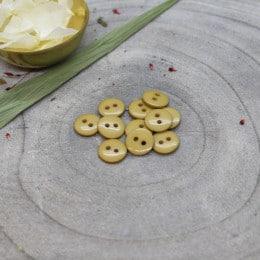 Boutons Classic Shine - Mustard