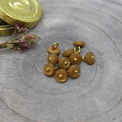 Jewel Buttons - Ochre