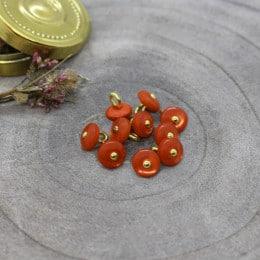 Boutons Jewel - Tangerine