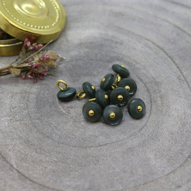 Jewel Buttons - Cedar