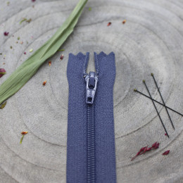 Atelier Brunette Cobalt Zipper