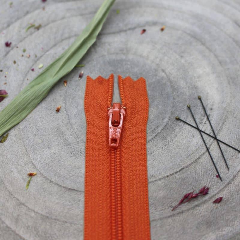 Zip Tangerine - Atelier Brunette