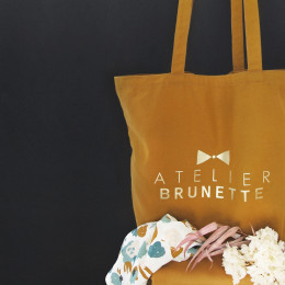 "Limited Edition maxi Tote Bag ""Ochre"""