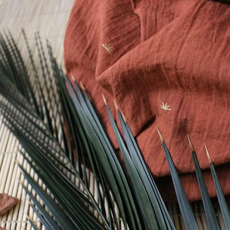 Sunset Chestnut Fabric