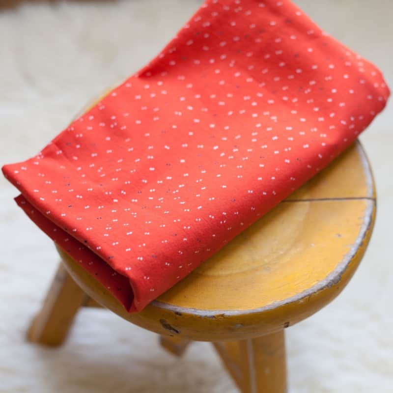 Sparkle Tangerine Fabric