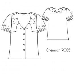 Chemisier Rose
