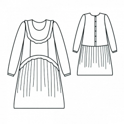 Renée Dress Sewing Pattern