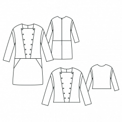 Ondine Dress Sewing Pattern