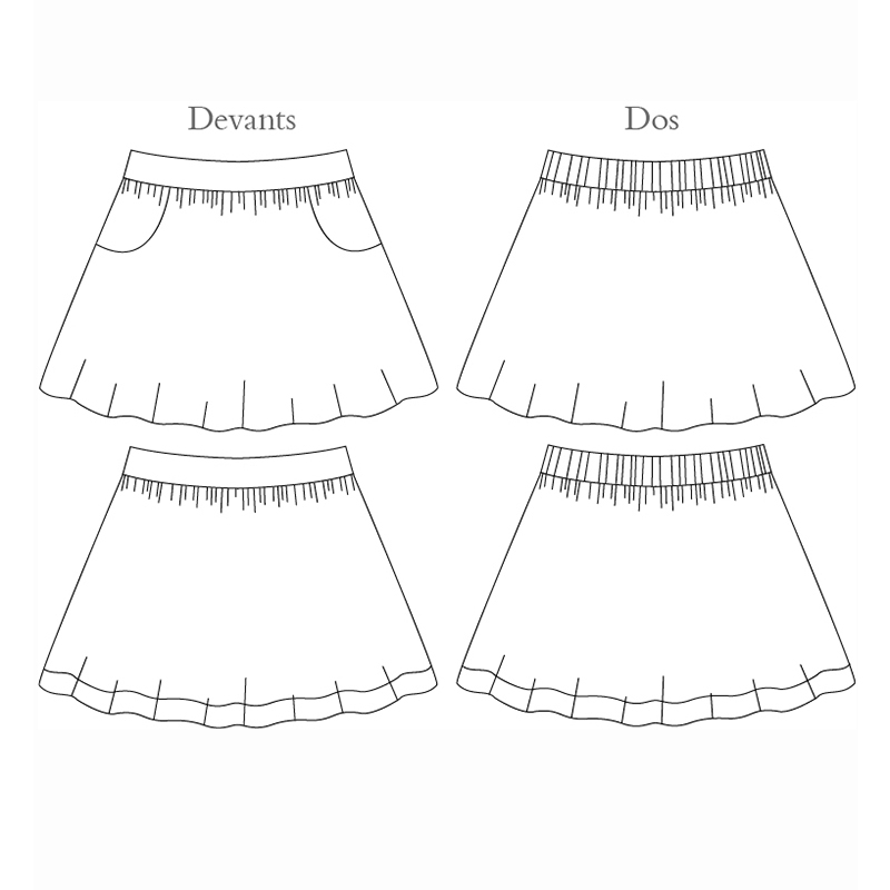 Froncette Skirt