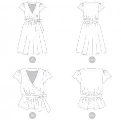 Yaletown dress & blouse